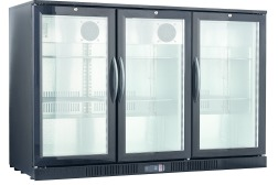 BACK BAR COOLER 3 GLASS DOORS