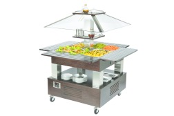 BUFFET ROLLER HOT 1435 X 1435 X 1540