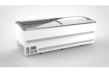 CHEST FREEZER WITH SLIDING GLASS LIDS 2508mm