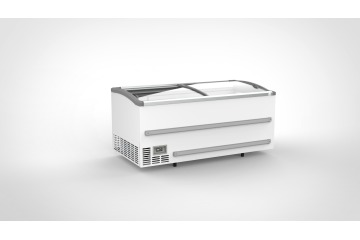 CHEST FREEZER WITH SLIDING GLASS LIDS 1879mm